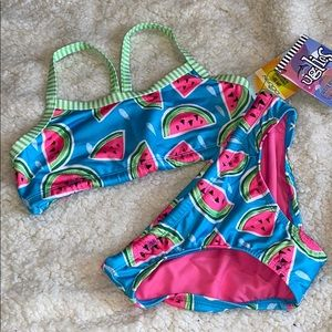 14 Dolfin Uglies Swimsuit Bikini 2 Piece Girls